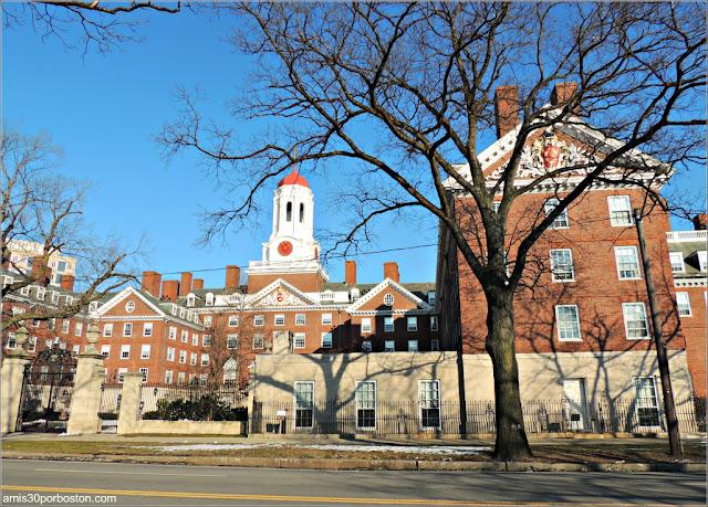 Dunster House en la Universidad de Harvard, Cambridge