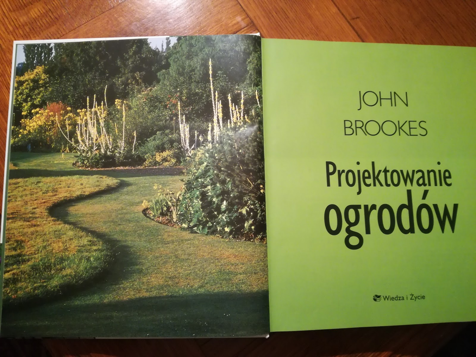 Ogród Tamaryszka John Brookes I Jego Książka Projektowanie Ogrodów