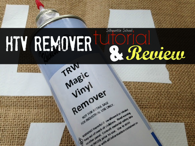 Magic Heat Transfer Vinyl Remover Review Removing Glitter