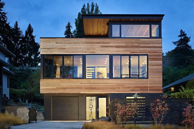 Rumah minimalis modern tetap bisa tampil gaya dengan biaya murah