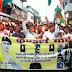 वैशाली:- शहीदों के सम्मान में राजद ने श्रद्धांजलि सभा कर निकाला कैंडल मार्च