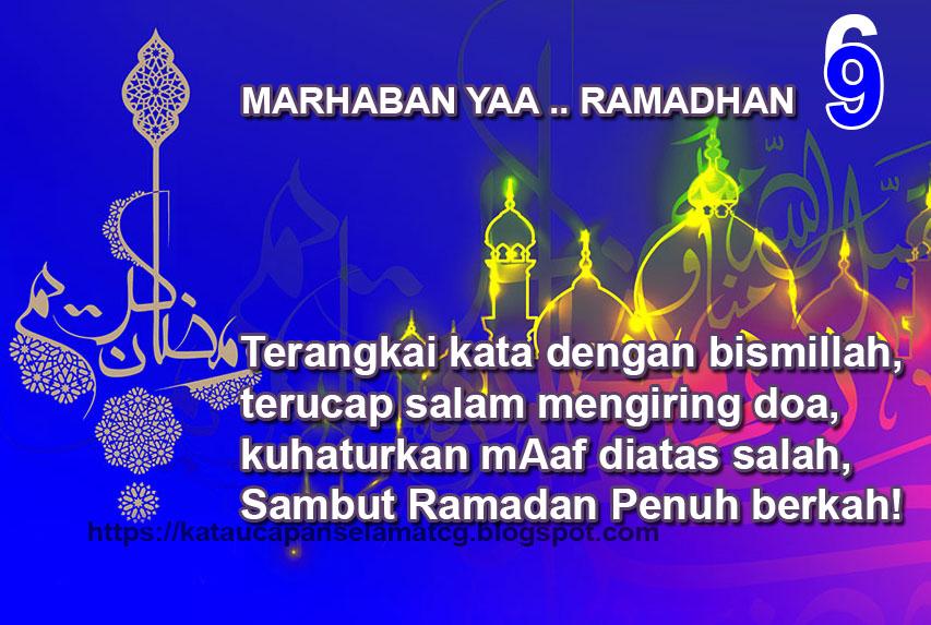 Kata Ucapan Selamat Menyambut Ramadhan Terbaru