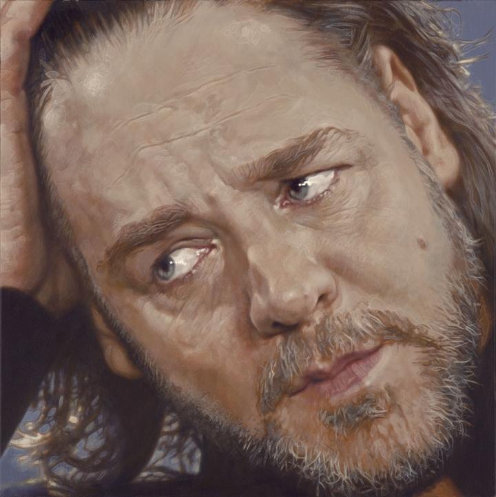 Russell Crowe - Realismo Pop Nuevo - Sebastian Krüger 1963