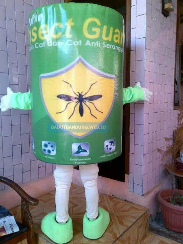 Badut cat anti serangga maskot insect guard
