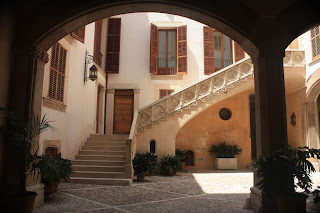 Courtyard in Palma de Mallorca