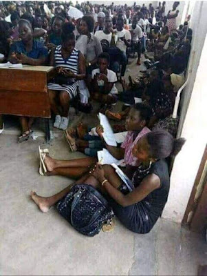 Before Adaobi Obasi Came in this is what Students go Through Studying at IMSU (Photos)
