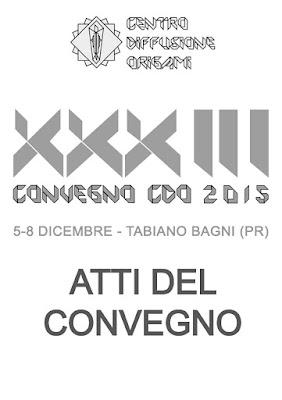 Copertina Atti del Convegno CDO 2015 - Cover CDO Convention book 2015