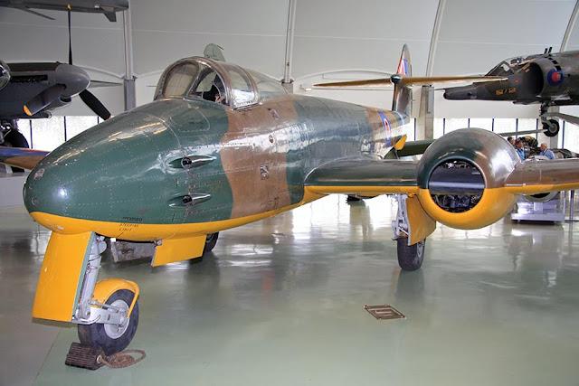 O primeiro avião a jato do Brasil: Gloster Meteor