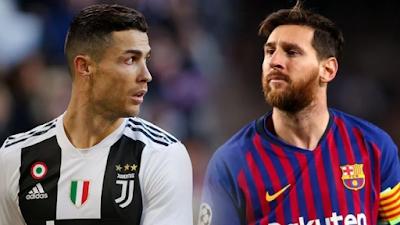 C. Ronaldo dan Lionel Messi