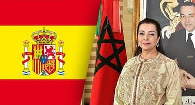 بنعيش سفيرة المغرب بمدريد تؤكد على ان العلاقة بين الدول تحكمها أفعال وقد تكون لها عواقب