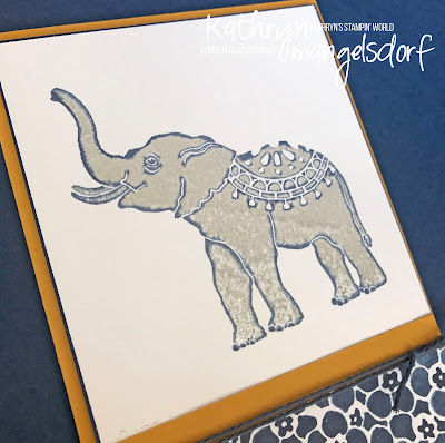 Stampin' Up! Lucky Elephant created by Kathryn Mangelsdorf