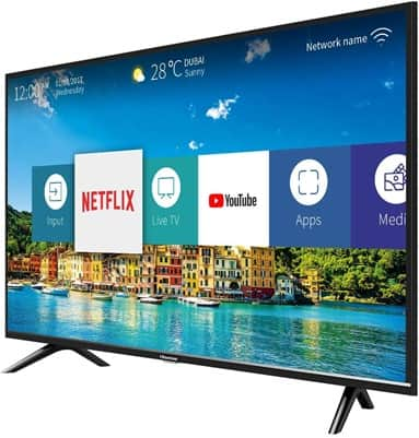 Hisense H40B5600: Smart TV FHD de 40'' con software VIDAA U 2.5 y audio DBX-TV