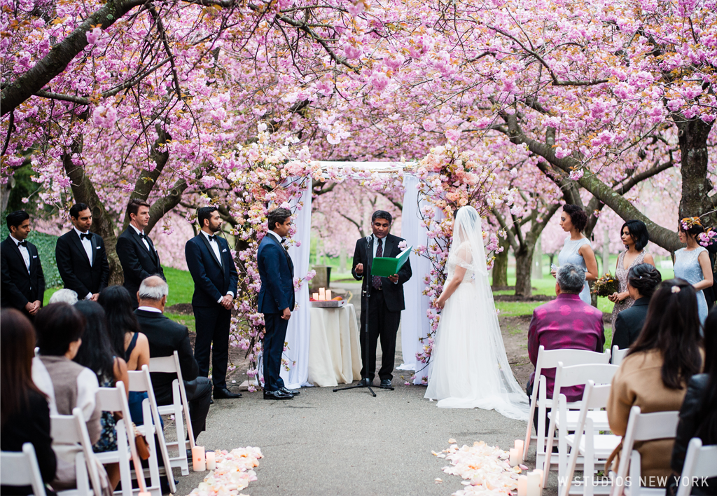 W Studios Ny Photography In New York City Brooklyn Botanic Garden Wedding Bo Ninan