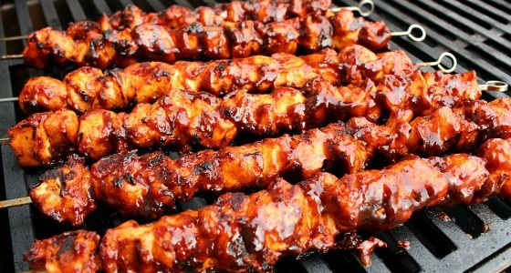 Barbecued Recipe How to Make Chicken Kebabs