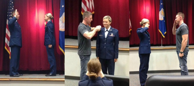 Officer Training School, Air Force OTS Commissioning