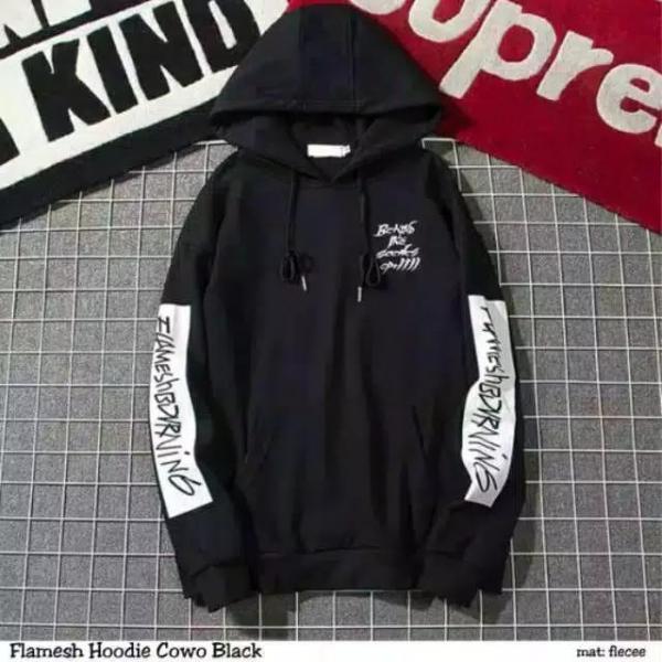 Sweater Hoodie Cowok Dewasa AC-091