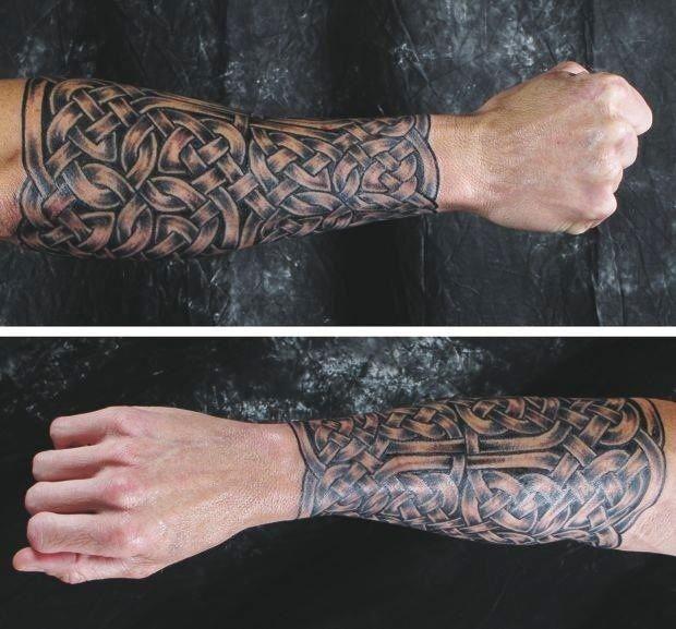 Irish Forearm Tattoos