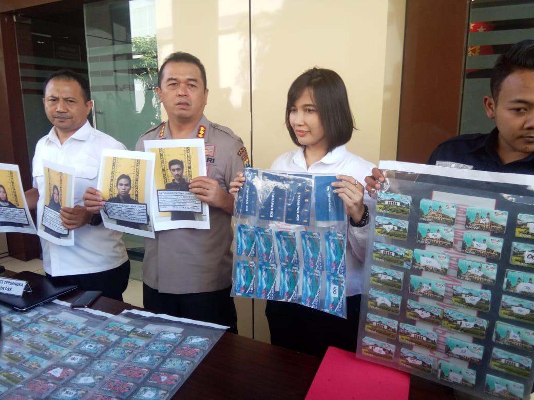 Ribuan Akun Fiktif Diungkap Polda Jatim