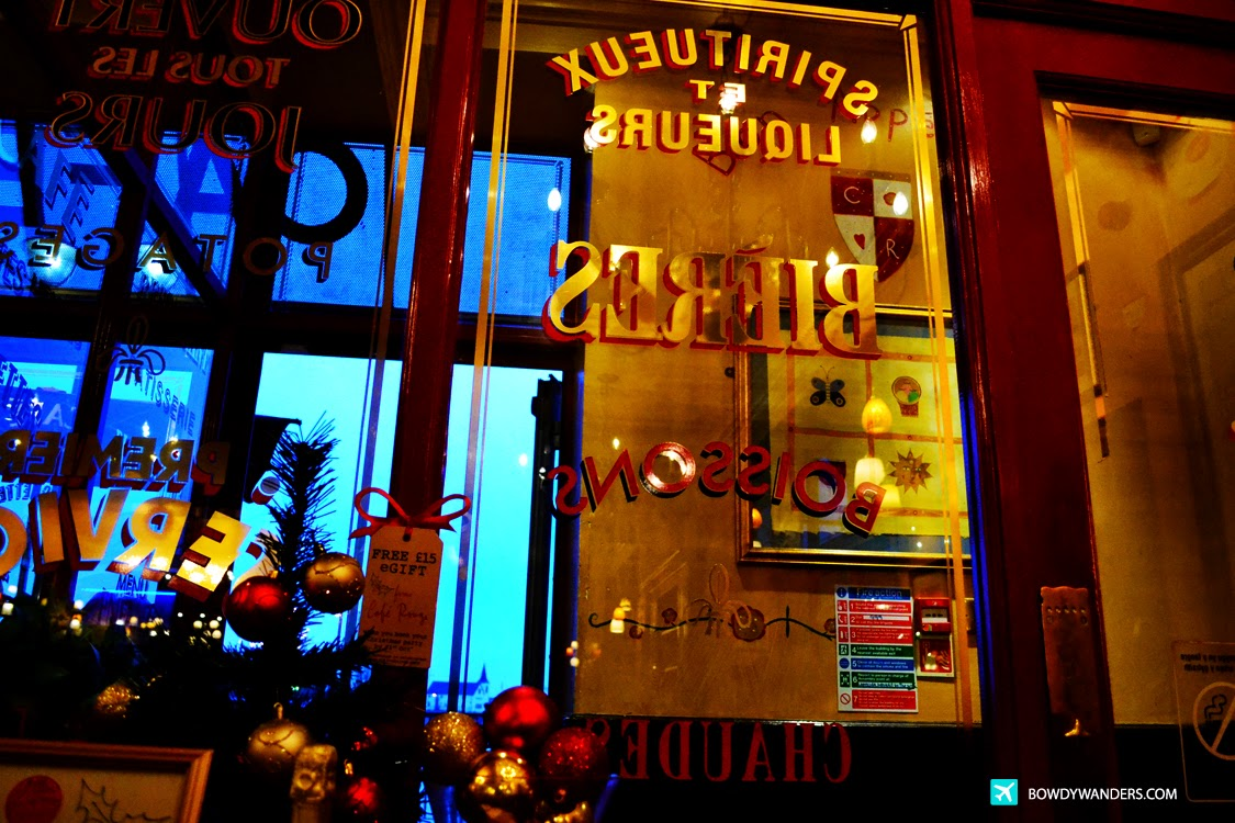 bowdywanders.com Singapore Travel Blog Philippines Photo :: Wales :: Cafe Rouge in Mermaid Quay, Cardiff