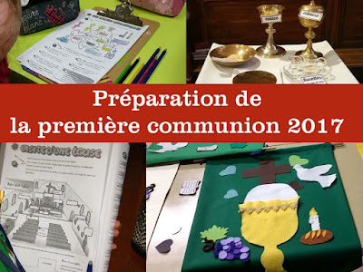 TEMPS FORT DE PREMIERE COMMUNION