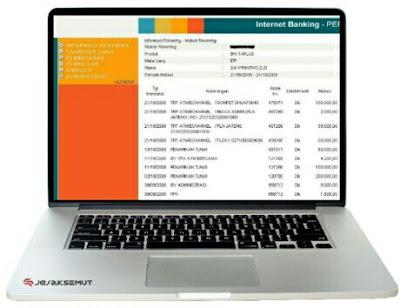 cetak ulang resi transfer bni internet banking