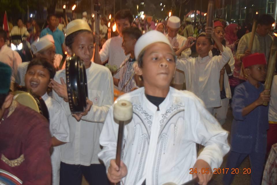 Pawai Obor Menyambut Ramadhan kelurahan duripulo # ...