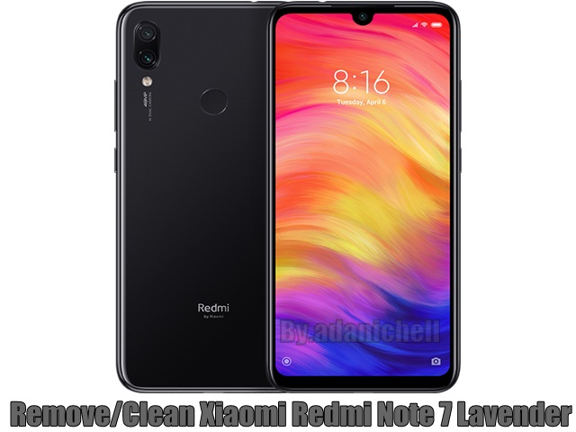Cara Remove/Clean Xiaomi Redmi Note 7 (Lavender)