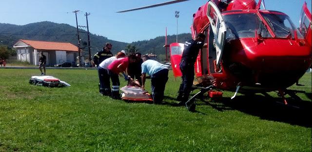 Όλο το ρεπορτάζ των σοβαρών τραυματισμών από γκαζάκι στις Καβουρότρυπες Χαλκιδικής - Αεροδιακομιδή στο ΑΧΕΠΑ