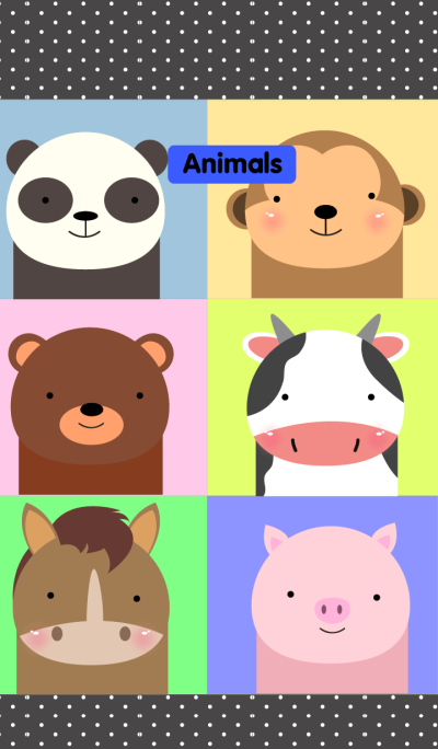 Animals and Friend Theme