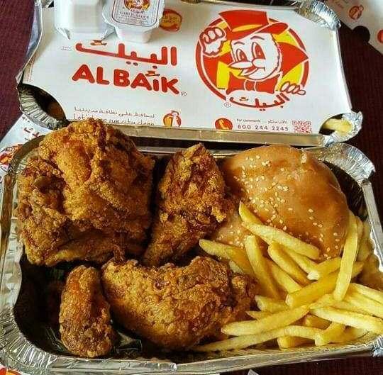 Nurul Sufitri S Blog Al Baik Fried Chicken Kuliner Arab Saudi
