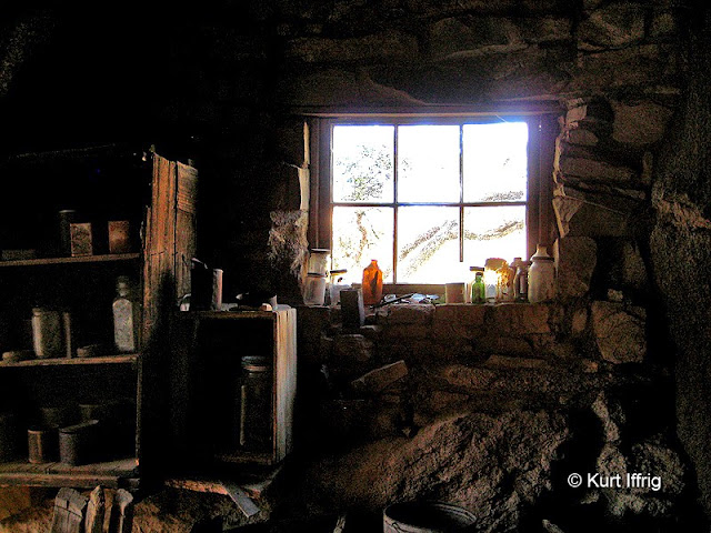 There are multiple artifact within the Eagle Cliff rock shelter, some dating back to the late 1880s.