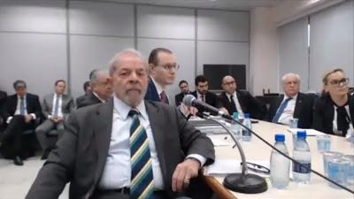 Assista ao vídeo do depoimento de Lula ao juiz Sergio Moro