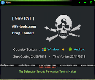 888 RAT ( Pro ) For Windows + Android v1.0.9 Free