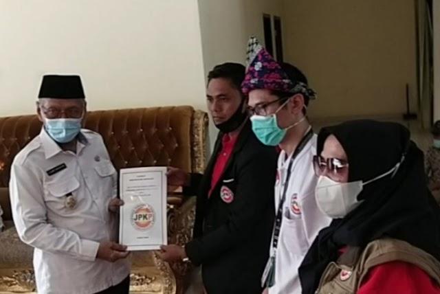 Ketum JPKP Berangkat Rakernas Ke Padang Singgah Di Banyuasin