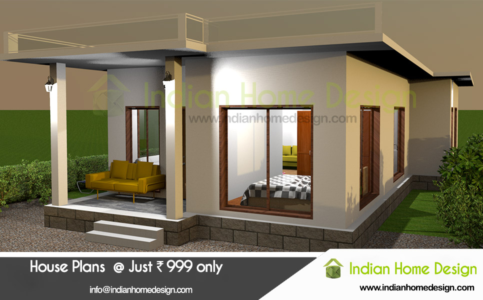 Small house design Kerala style