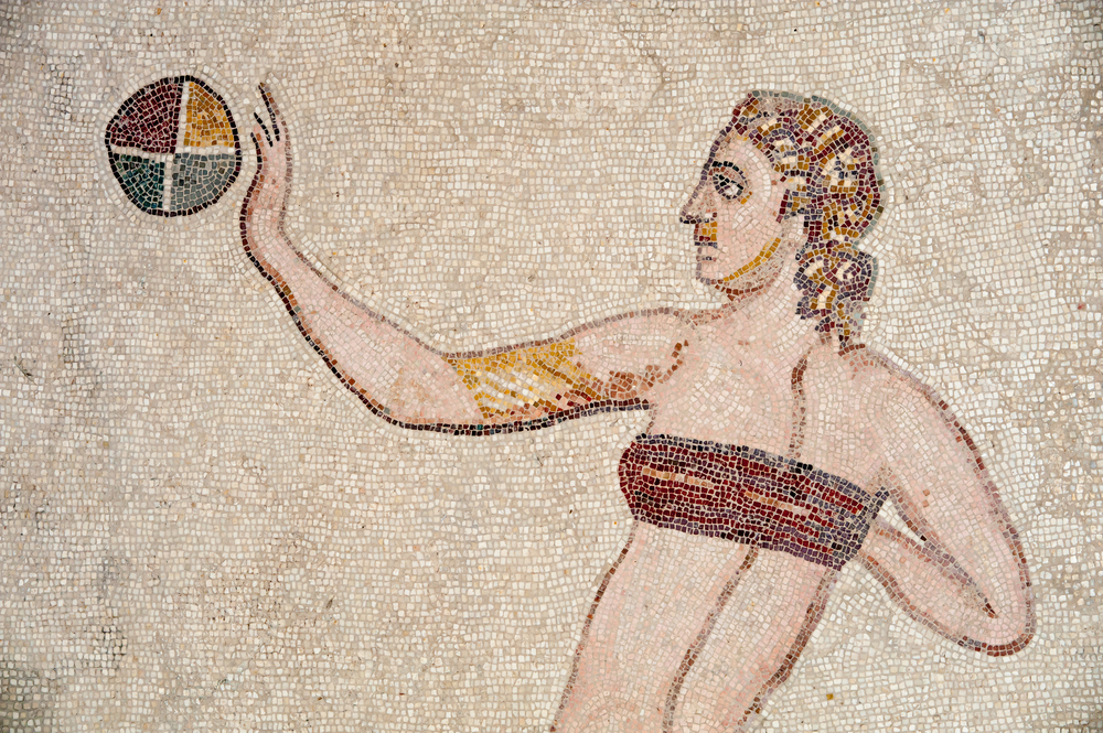 Mosaics of Villa Romana del Casale