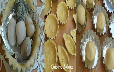 تارتوليت الفراولة والكريمة