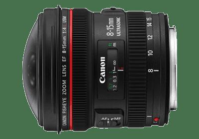 【攝影器材】務實首選,Canon 用戶都值得擁有的 10 顆 EF 鏡 - Canon EF 8-15mm f/4L Fisheye USM