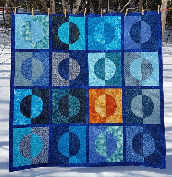 Half Moons Afire quilt pattern | DevotedQuilter.com