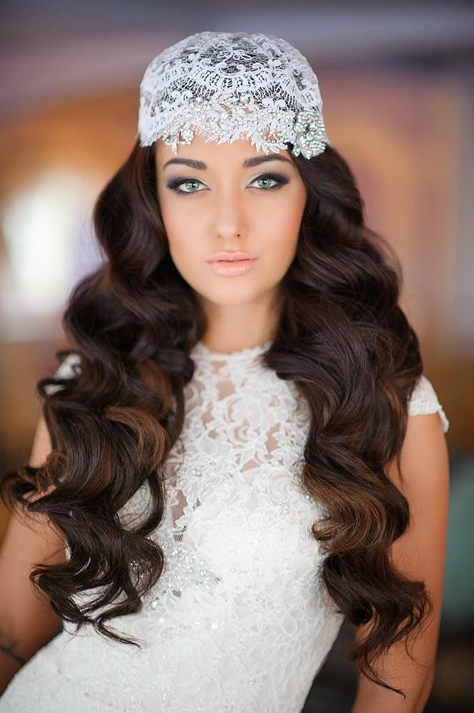 Peinados de novia semirecogidos 2017