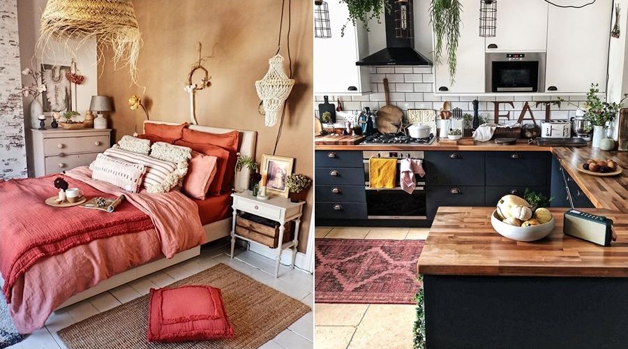 Boho ze skandynawskimi akcentami, wystrój wnętrz, wnętrza, urządzanie domu, dekoracje wnętrz, aranżacja wnętrz, inspiracje wnętrz,interior design , dom i wnętrze, aranżacja mieszkania, modne wnętrza, boho, boho style, styl skandynawski, scandinavian style, styl eklektyczny,