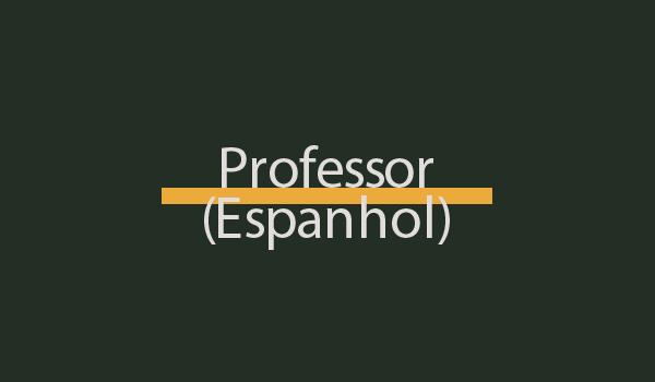 Prova de Concurso para Professor (Espanhol) com Gabarito