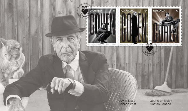 Canada Post Pays Tribute To Leonard Cohen