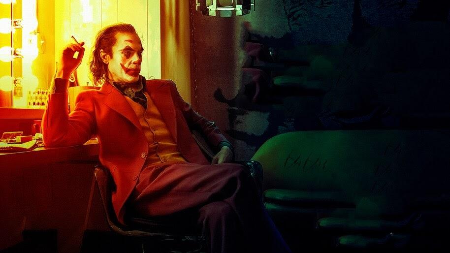 Joker, Smoking, Joaquin Phoenix, Movie, 2019, 4K, #7.148 ...