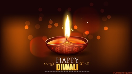 Happy Diwali SMS Wallpaper HD Widescreen Download