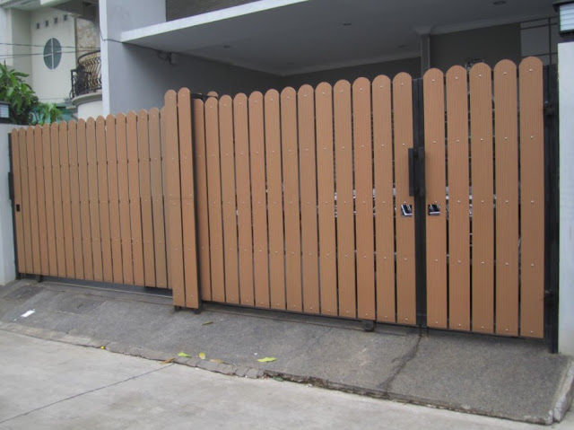 warna cat pagar rumah modern terbaru