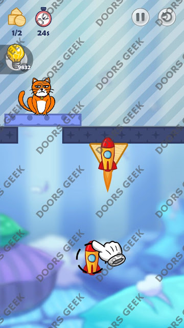 Hello Cats Level 102 Solution, Cheats, Walkthrough 3 Stars for Android and iOS