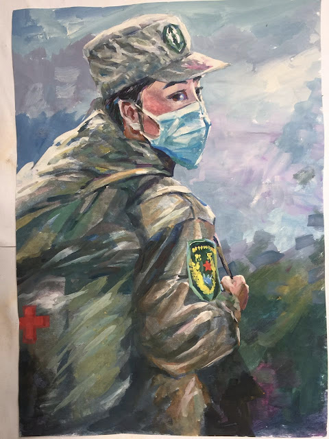 Китай, коронавирус, борьба, картины
