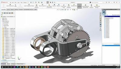 Alasan solidworks hanya mampu dibuka menggunakan PCWorkstation