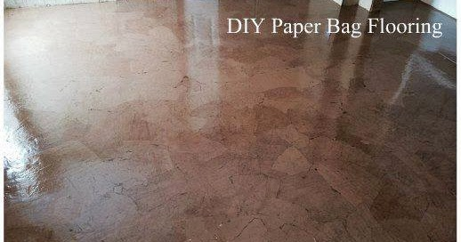 This Is How We Mommy Diy Paper Bag Flooring